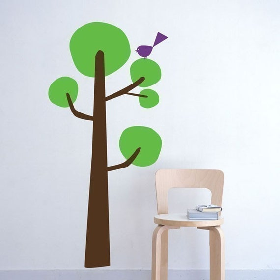 Funky Tree Decal