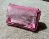 Fuzzy Pink Nintendo DS Lite Carrying Case