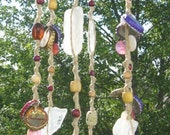 Bella Garbage Chime - Upcycled Hemp Windchime