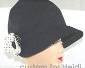 twinkle    Custom Cloche for Heidi