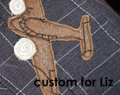 twinkle       Custom Airplane Worker Cap for Liz