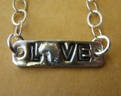 Africa Love necklace- Our Glimmer of Hope Fundraiser