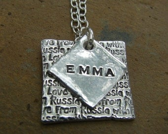 Russia Necklace-From Russia with Love-necklace