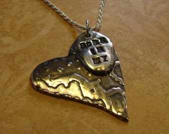 Adoption Necklace-Born in My Heart-