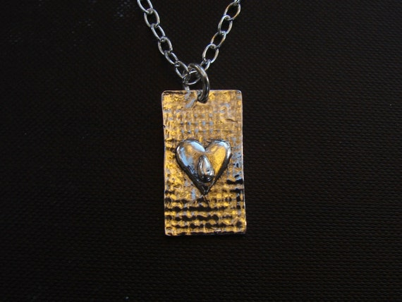 """Tears """"Tears are words the Heart can't express"""" necklace"""