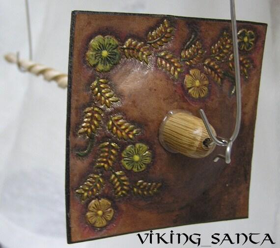 Viking Santa Drop Spindle Lg  0144e