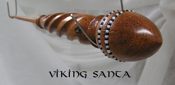 "Viking Santa Russian Lace Spindle .10 1/4"" (EDS0245)"