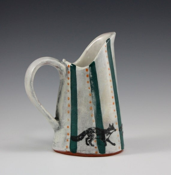Fox Hunt PItcher