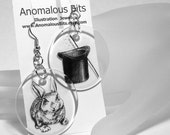 Pull a Bunny Rabbit out of your Hat Earrings