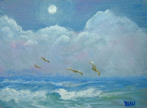 ACEO Print of Seascape 3