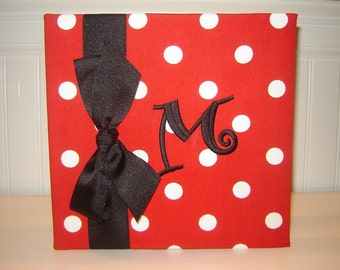 Red and White Dotted Album
