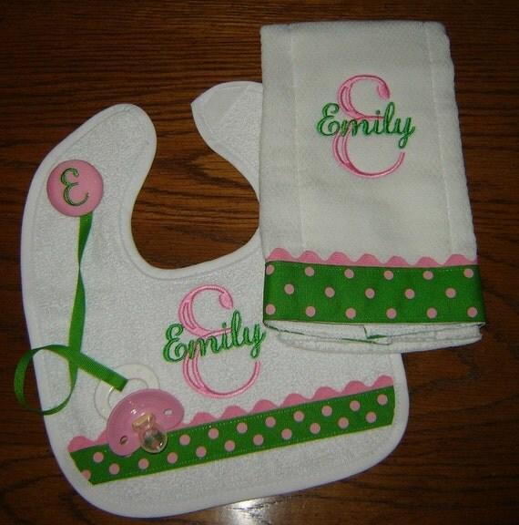 Emerald and Candy Pink Gift Set