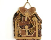 RESERVED vintage KILIM backpack