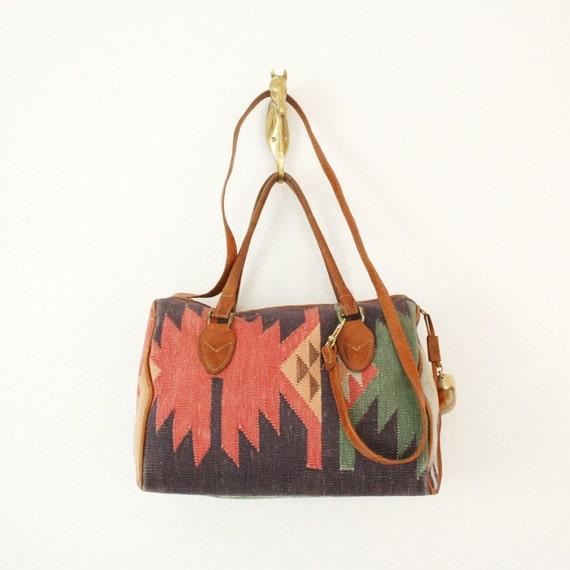 Vintage Geometric Southwestern Pattern Handbag