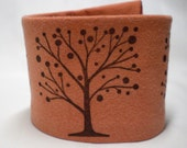 Wrist Cuff Wrist  Wallet - Scary Trees - Eco-Friendly Wrist Tattoo Cover