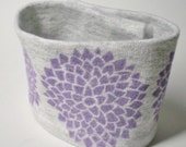 Wrist Cuff Wallet for runners - Chrysanthemum Eco-Friendly