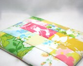 iPad case iPad Sleeve Eco-friendly Tablet sleeve made from vintage sheets