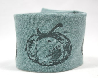 Wrist Cuff Wallet  for Running  Eco Friendly Green Tomatoes
