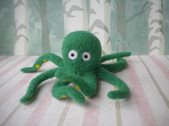 William the Felted Octopus