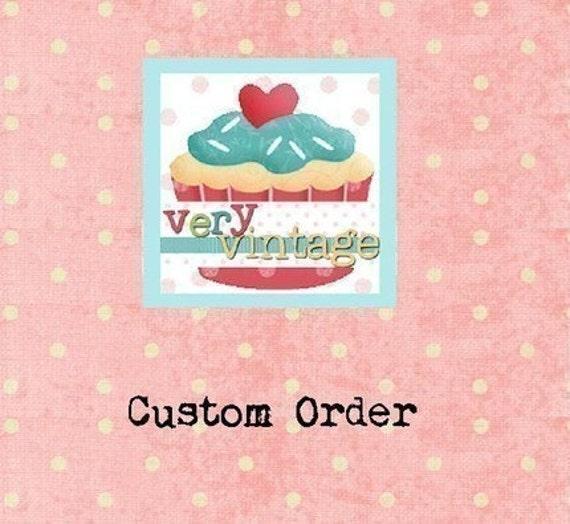 Custom Listing for 87Wildflower