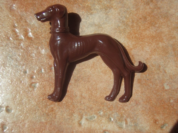 Vintage Collection- Vintage Dog Cab Brooch - -10 PERCENT Donated to SPCA