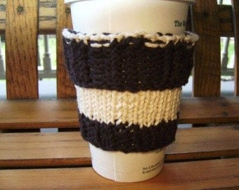 Coffee  Cup Sweater - Espresso Cream