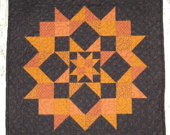 Ripples Star in a Star 25x25 Quilt Pattern