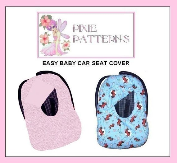 items similar to baby infant car seat cover pattern free ship on etsy. Black Bedroom Furniture Sets. Home Design Ideas