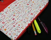 Artsy Love 3 Ring Binder Pencil Pouch