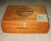Ashton Magnum Wooden Cigar Box