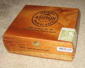 Ashton Aged Maduro No. 40 Wooden Cigar Box