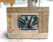 ACEO Hand-Made Iris Folding Frame Vertical and Horizontal For Aceos and Wallet size photos.