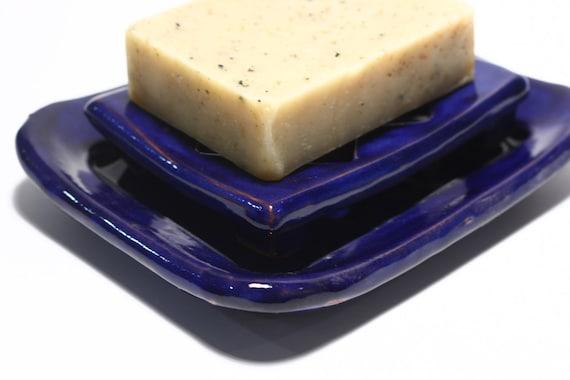 Soap dish in Cobalt Blue