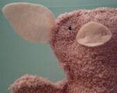 LIttle Piggy Washcloth Puppet