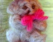 Tiny Teddy Bear-Crocheted Miniature