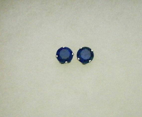 7mm Lapis Lazuli in Sterling Stud Earrings  SnapsByAnthony
