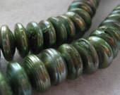 Green Fresh Water Coin Pearls- 12mm - 25 pearls in listing