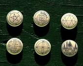 magic circles Buttons Badges