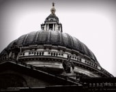The Dome of St Pauls Cathedral, London, UK - 8x10 print