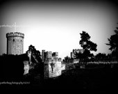 English Castle - The Outer Walls, 8x10 print