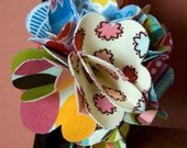 CORA PAIGE - Bright Fabric Flower Barrette