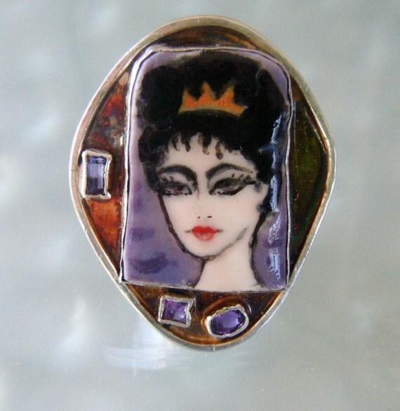 Statement Ring-Elizabeth Taylor- Circa Cleopatra