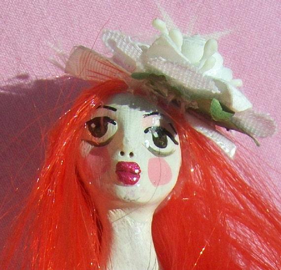 Cherry Rose Gothic Lolita Valentine Doll
