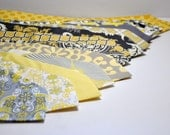 Yellow and Gray Mens Neckties by Me and Matilda