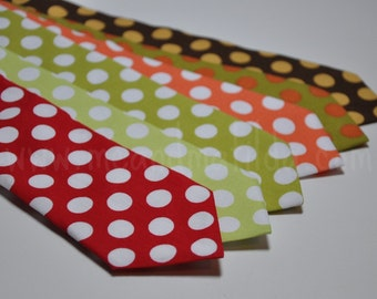 Neckties - Polka Dot Ties for Boys or Men