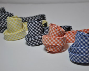 Mens Bow Ties in Gingham LOTS of COLORS AVAILABLE Freestyle Bowties