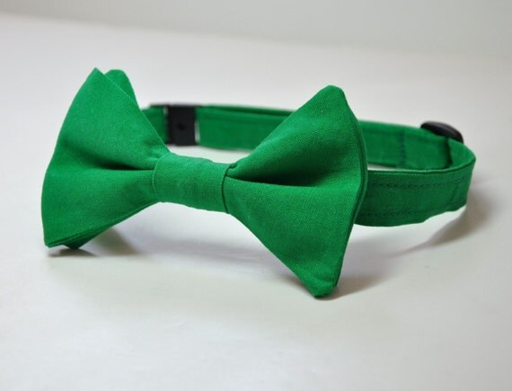 Bow Tie for Little Boys Kelly Green ANY COLOR Available