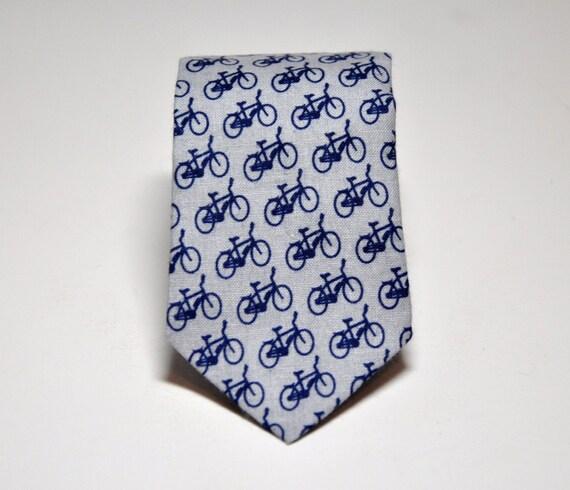 Necktie - Men's Tie Gray Bicycles - Boy's Necktie