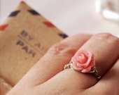 Gillian -- Handwrapped Gold Band - Everyday Classic, Dreamy Romantic, Rose Ring, Gold Ring, Valentine
