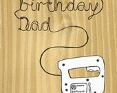 Happy Birthday Dad, DIY enthusiast card